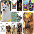 german shepherd dog Hard Case Transparent for iPhone 7 7 Plus 6 6s Plus 5 5S SE 5C 4 4S