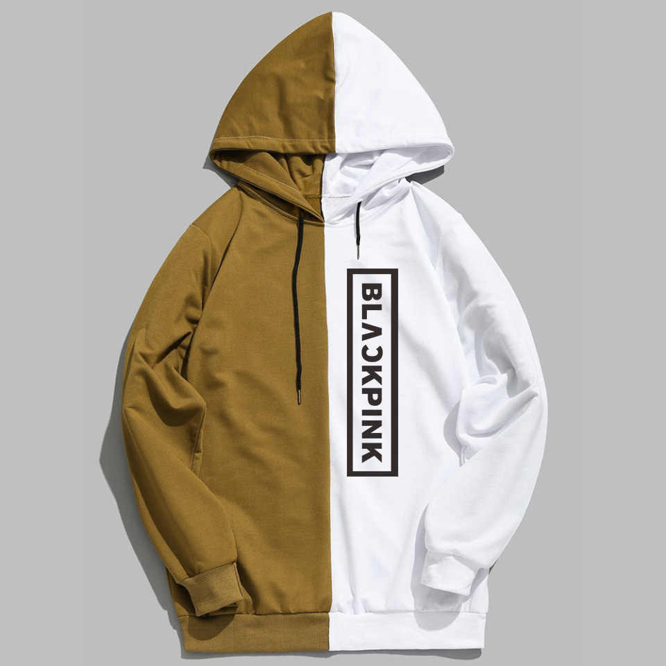 KELUOXIN Kpop Blackpink Hoodies Men Women K-pop List Rose Streetwear Fleece Sweatshirt Hip Hop Long Sleeve Pullover Sudadera