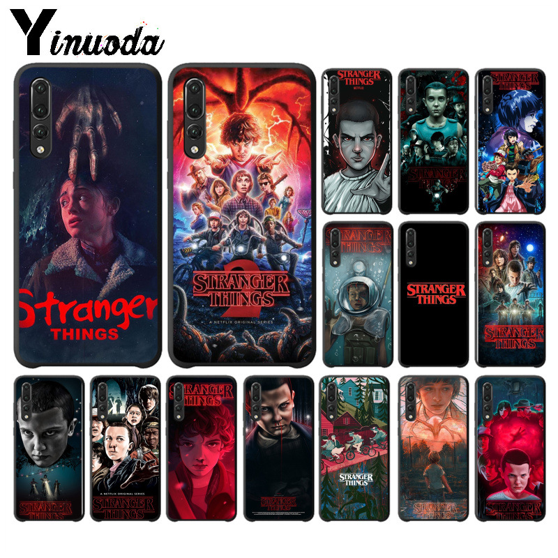 Yinuoda <font><b>Stranger</b></font> <font><b>Things</b></font> TPU Soft Silicone <font><b>Phone</b></font> <font><b>Case</b></font> for <font><b>Huawei</b></font> P10 plus 20 pro <font><b>P20</b></font> <font><b>lite</b></font> mate9 10 <font><b>lite</b></font> honor 10 view10 cover image