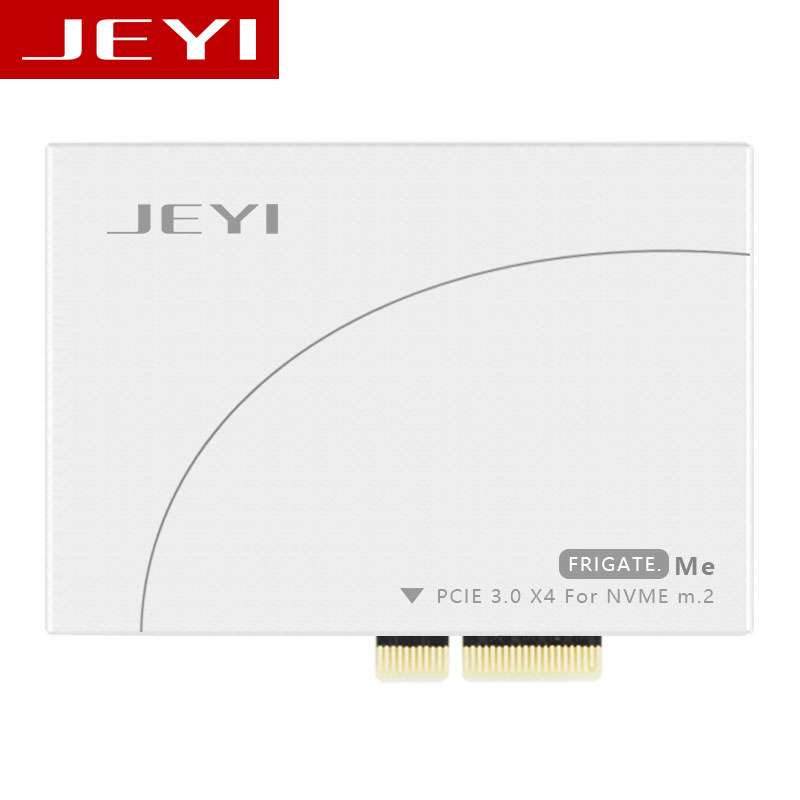 JEYI Frigate No 1 M 2 NVMe SSD NGFF To PCIE 3 0 X4 Adapter Card