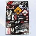 Nuevo estilo tatuajes de pegatinas para Pit Bike Dirt Bike moto motocicleta Motocross ATV Scooter CRF YZF KXF KTM RMZ