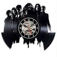 Vinyl Record Wall Clock Retro Modern Design Dumbledore Harry Potter Black Unique Watch Wall Clocks Home Decor Silent