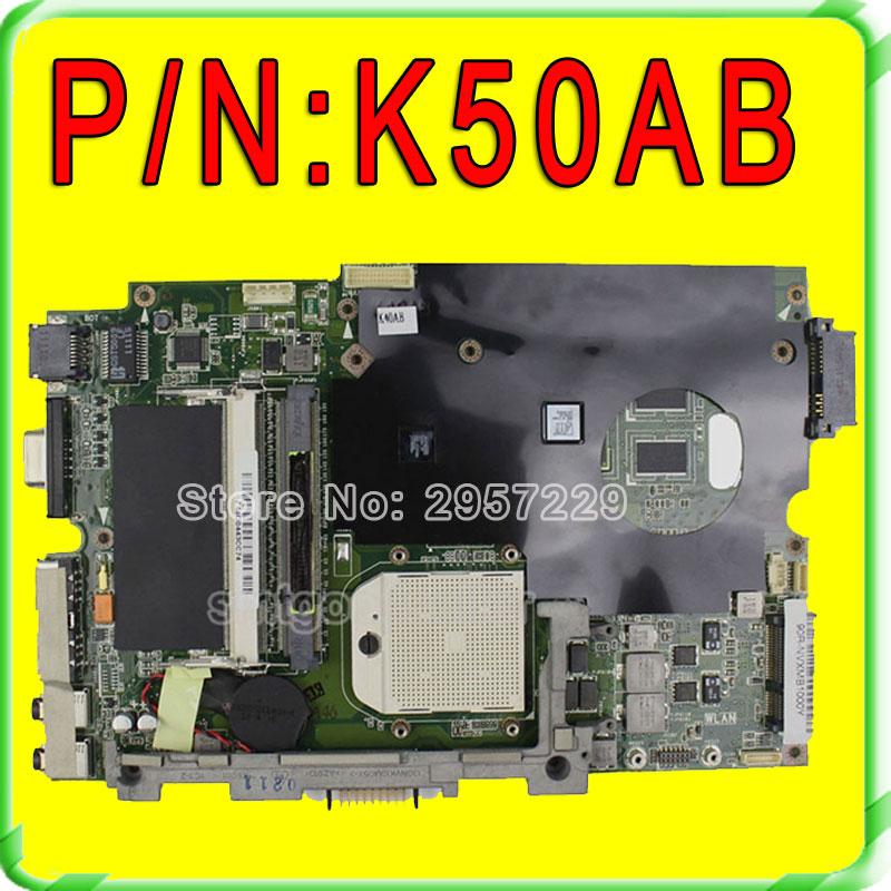все цены на  K50AB Motherboard for Asus K40AB Mainboard DDR2 S1 SOCKET 100% Workable  онлайн