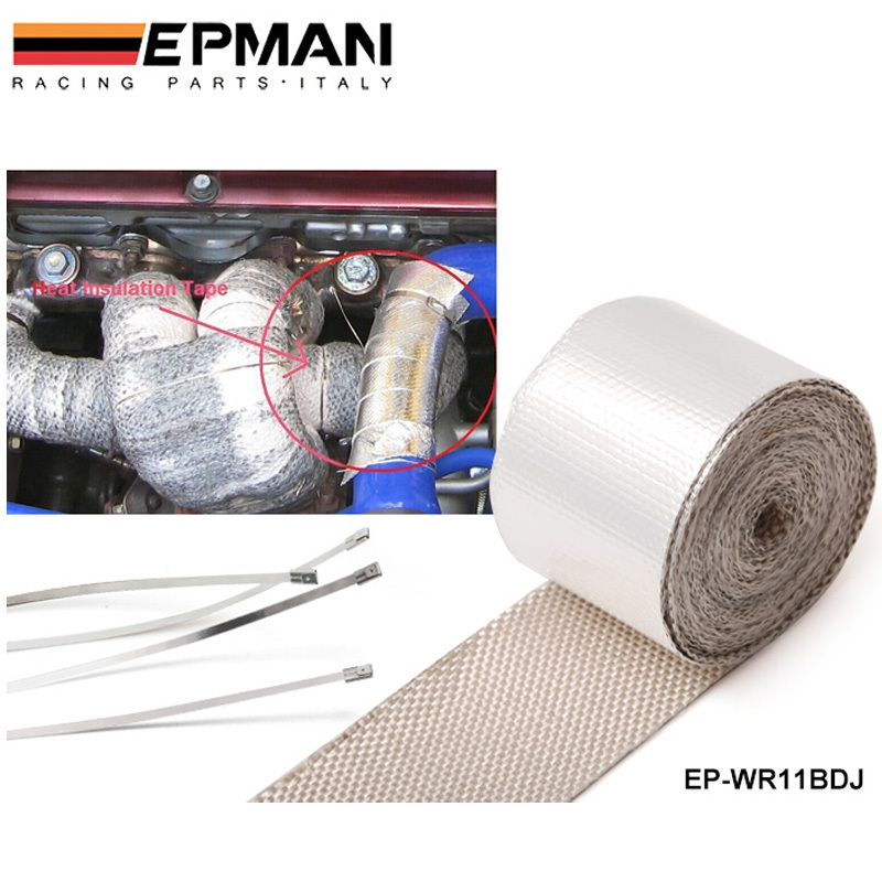 Heat intake Reflective insulation wrap tape induction For BMW MINI COOPER S JCW W11 R52 R53 01-06 BL EP-WR11BDJ
