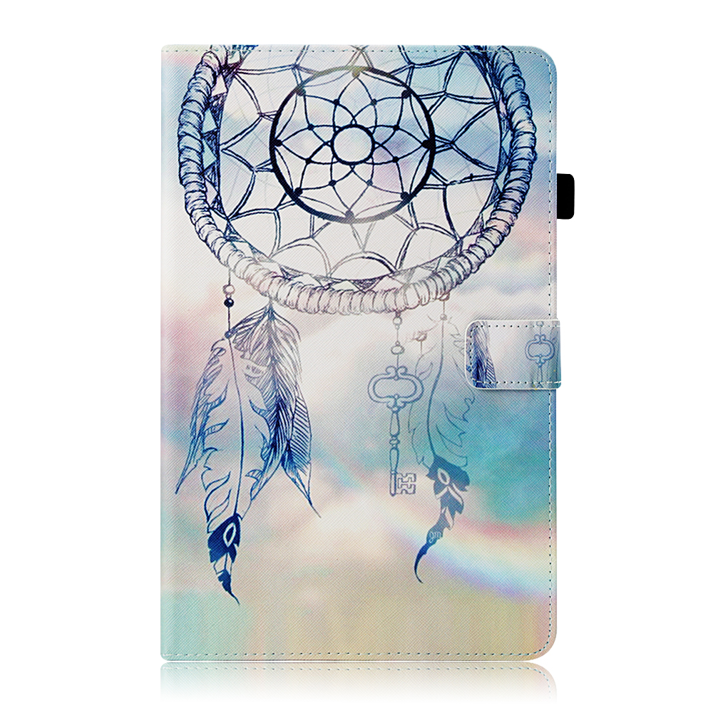 Case For Samsung Galaxy Tab A A2 2018 10.5 Inch T590 T595 T597 SM-T590 Cover Funda Tablet Fashion Painted Stand Shell