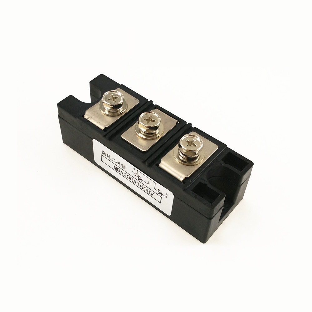 Anti-anti-diode MDA 200A 1600V Rectifier diode module brand new original japan niec indah pt200s16a 200a 1200 1600v three phase rectifier module