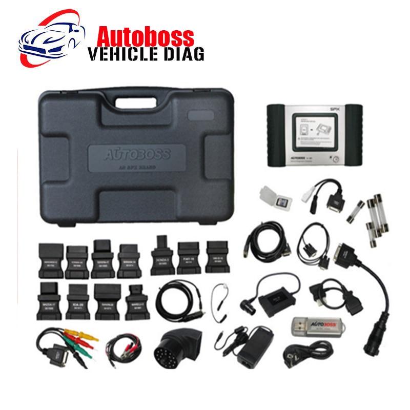 Original Autoboss V30 Elite Professioanl Auto Scanner Update Online OBD2 Code Scanner Diagnostic Tool DHL free shipping