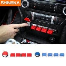 Shineka консоль приборной панели планки с кнопками аксессуары