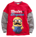 New 2016 Autumn Spring Baby boys girls despicable me minions t shirt  Children's brand clothes long sleeve t shirt Tops & Tees