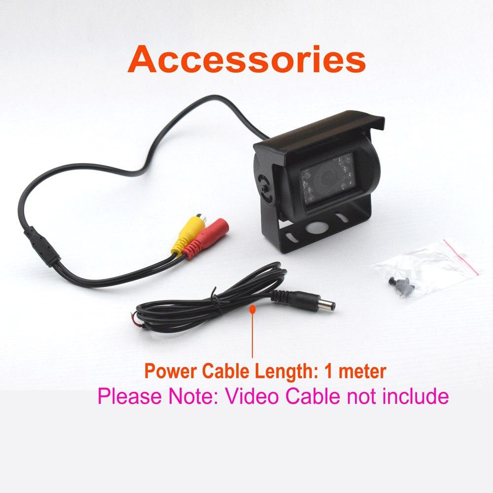 XCGaoon Uniwersalna, szerokokątna kamera samochodowa z tyłu, - Elektronika Samochodowa - Zdjęcie 6
