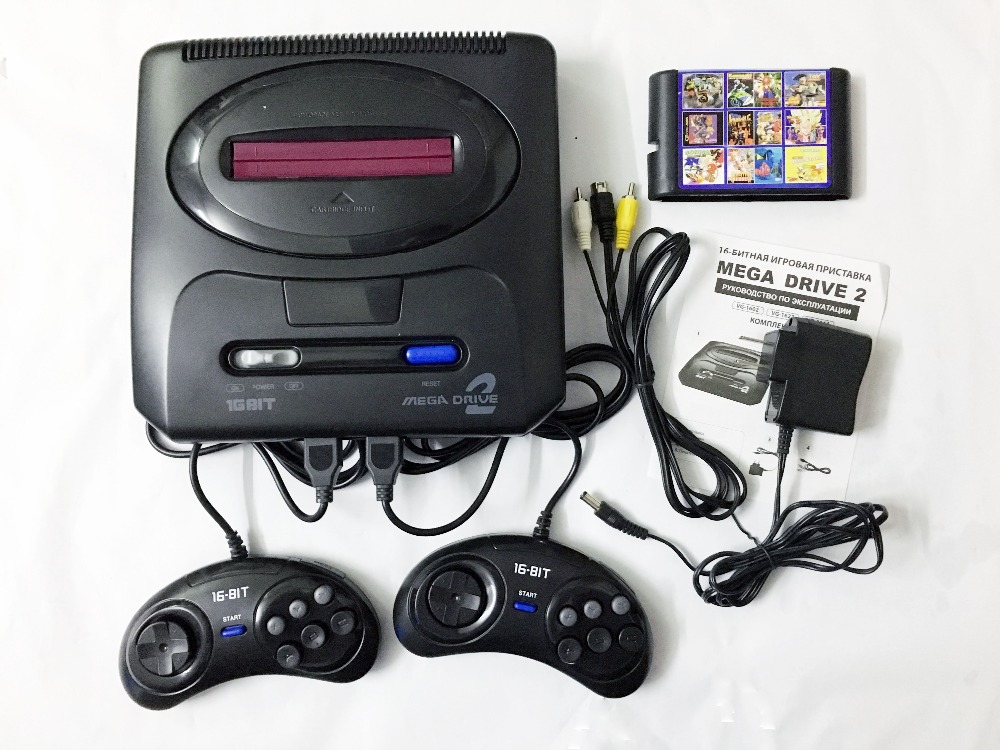 ZOGA 16 bit MD 2 Video Console with US Japan Mode games