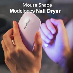 Image 4 - Modelones 11 יח\חבילה SUNmini UV מנורת Beigner עיסוק נייל אמנות כלים DIY נייל עיצוב UV נייל מניקור ערכת כל 4 צבעים ג ל ב סט