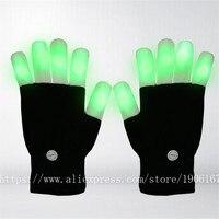 RGB led צבעוני כפפות אצבע זוהרת חידוש אבזרי ריקוד ספקי מועדון מסיבת כפפות כפפות עד צעצועים ייחודיים זוהרת