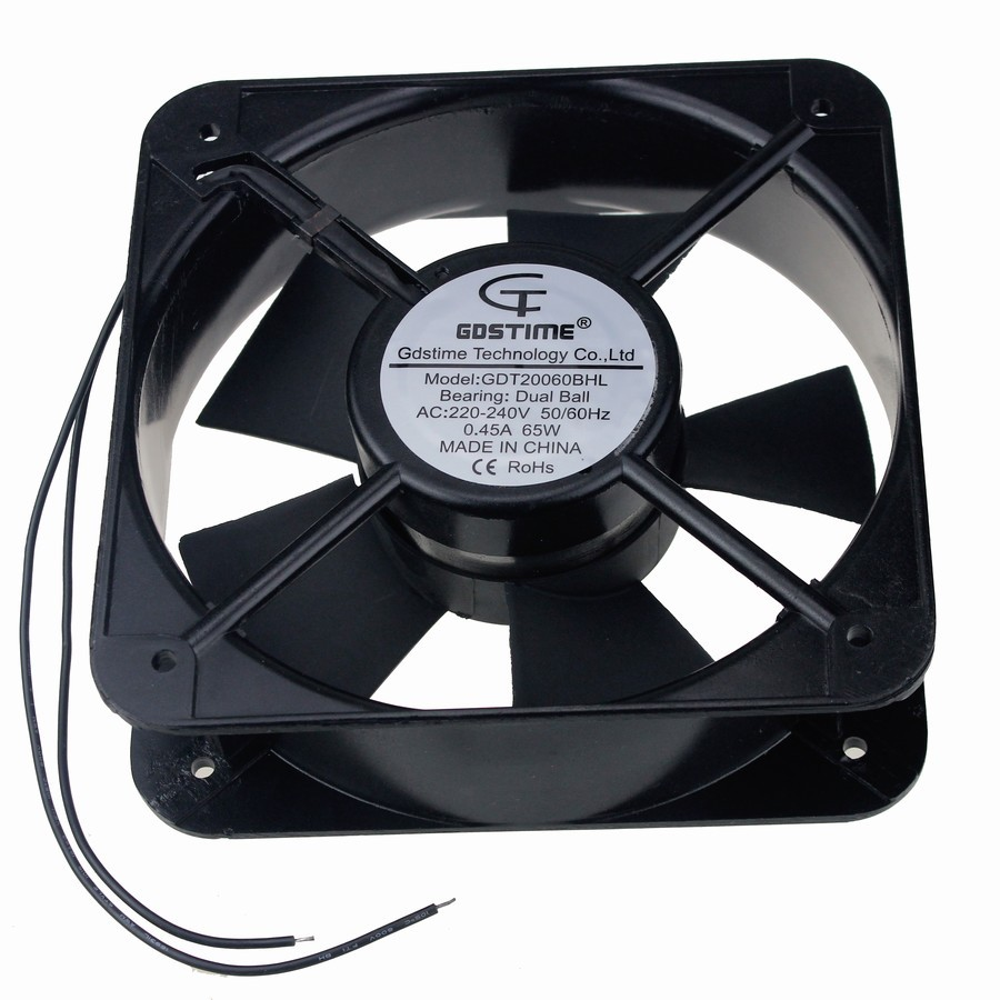 20 Axial Fan : Pcs gdstime mm ac v cm axial