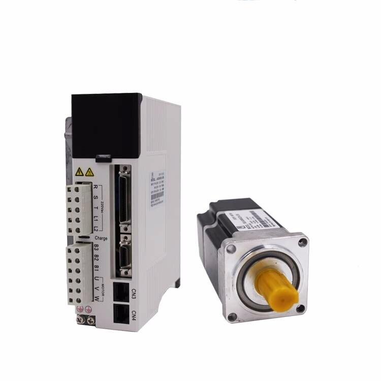 400w servo motor 60mm NEMA24 1.27Nm cheap servo motor driver kit with encoder and 3m cable JASD4002 20B+60JASM504230K M23B T