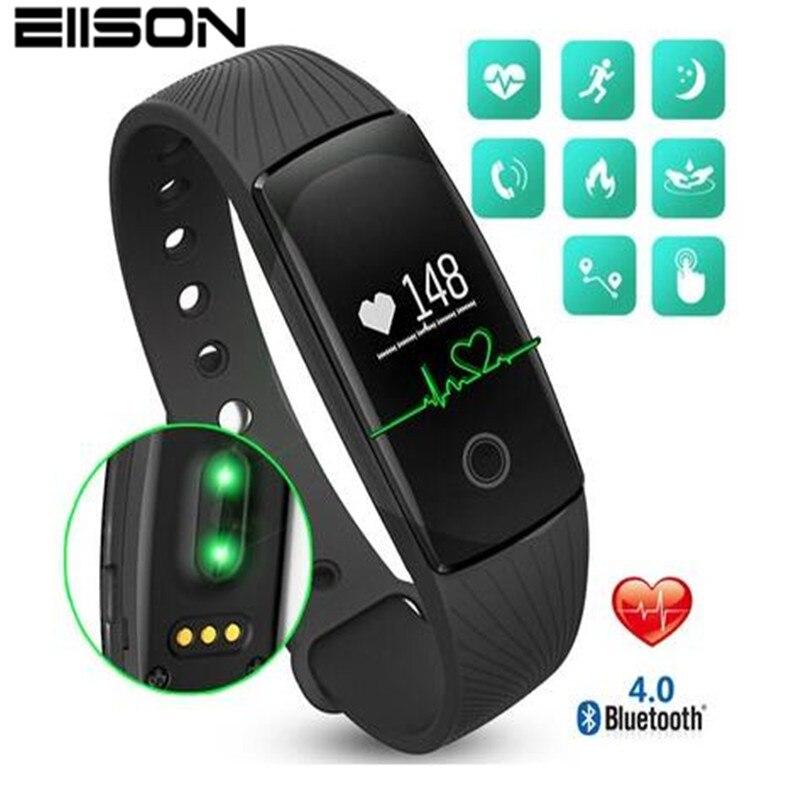 Bracciale Fitness Heart Rate Monitor Pulsometro Intelligente Orologio Activity Tracker Intelligente Banda Pulsometro Smart Bracciali pk fitbits