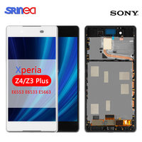 Original IPS For SONY Xperia Z4 LCD Display Touch Screen For SONY Xperia Z3 Plus E6533 E6553 Replacement LCD With Frame Adhesive