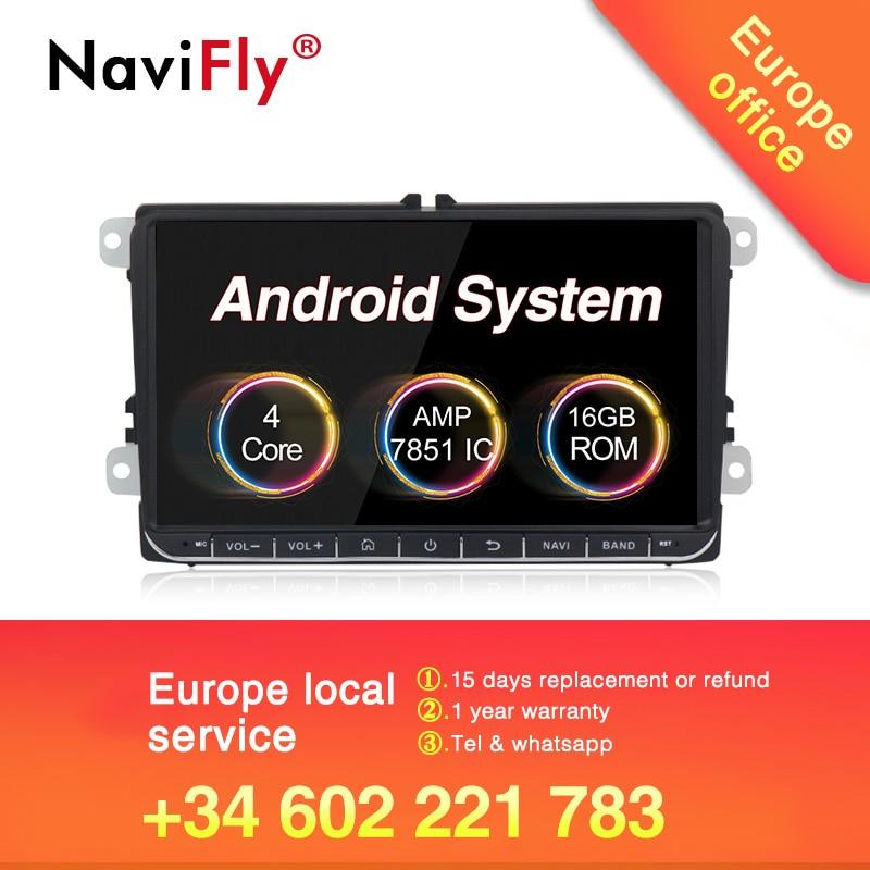 ЕС налогов! HD android 8,1 мультимедиа автомобиля радио, DVD, GPS плеер для Volkswagen Skoda Golf 5 Golf 6 поло PASSAT B5 B6 JETTA