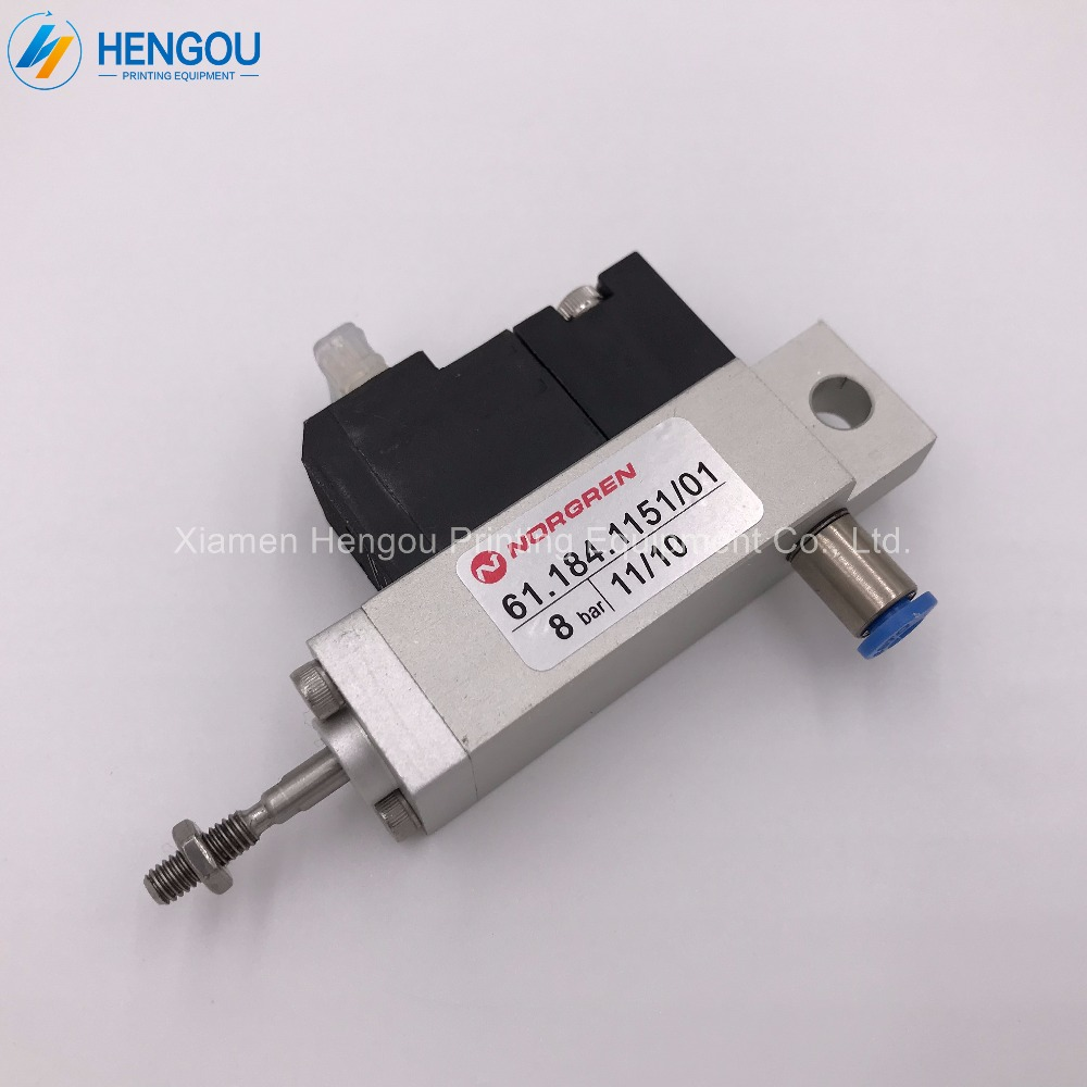 2 Pieces China post free shipping heidelberg Cylinder Valve Unit 61.184.1151 for SM102 CD102 Machine china post free shipping 1 piece heidelberg sm102 sensor 61 198 1563 06 61 198 1563