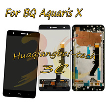 New 5.2'' For BQ Aquaris X / BQ Aquaris X Pro Full LCD DIsplay   Touch Screen Digitizer Assembly With Frame 100% Tested