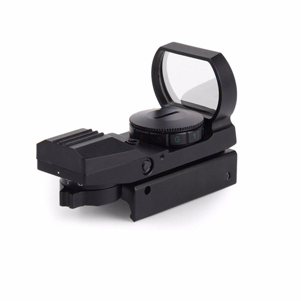 <font><b>11mm</b></font>/ 20mm Outdoor Rail Riflescope Hunting Airsoft Optics Scope Holographic Red Dot Sight Reflex 4 Reticle Tactical Gun Supplies