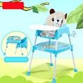 Многофункциональный Ребенок Обеденный Стул Регулируемый Складной Стульчик Для Кормления Widen Сидений Детский Стульчик Стол Сиденье Детские Стулья C01