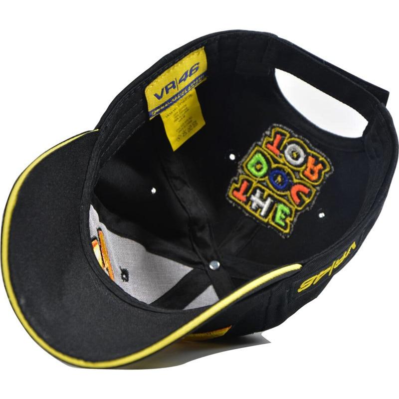 Star Signature rossi VR46 Baseball Hat Men Classic Motorcycle Racing  fashion Hip hop Cap letter Printed Snapback Hats NQ934701 23.3 Lei e248477f3f69