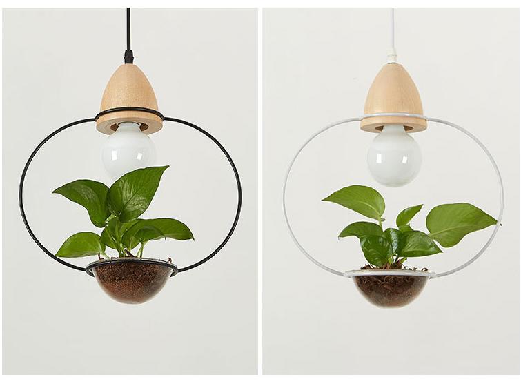 Art Deco Led Plant Lamp For Dining Room Cafe Bar Restaurant