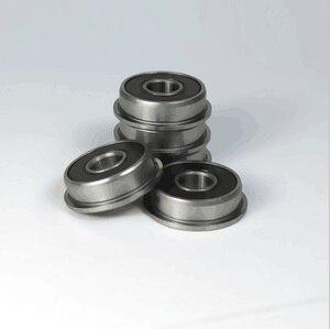 40 шт./лот резиновый уплотненный F695-2RS F695RS 5x13x4 мм F695 2RS фланцевый фланец глубокий шаровой подшипник миниатюрный 5*13*4