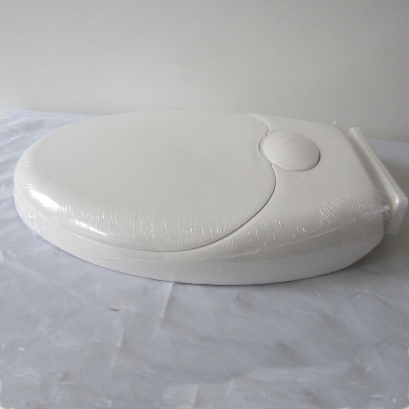 wc-istuimen kannesarja pehmeästi sulkeutuva aikuinen kaksinkertainen - Kotitaloustavarat - Valokuva 4