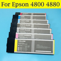 Compatible Ink Cartridge T5651 T5657 T5659 For Epson 4800 With One Times Chip