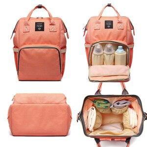 Image 3 - 여성 배낭 여성 대형 기저귀 배낭 멀티 포켓 다기능 엄마 배낭 여행 가방 엄마 기저귀 가방 SD 067