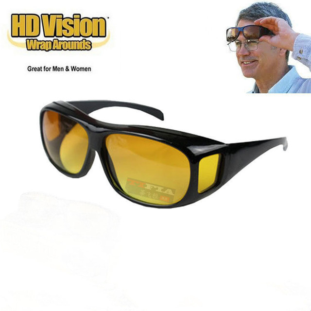 Sunglasses HD Sunglasses Night Vision Goggles Multi-function Night Driving Glasses Men UV Protection Male Retro Sunglasses