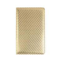 Luxury European Style Grid Pattern PU Leather Restaurant Table Menu Holder Cover Hotel Menu Folder Display