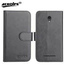 цена на Hot!! In Stock ZTE Blade L110 Case 6 Colors Ultra-thin Leather Exclusive For ZTE Blade L110 Phone Cover+Tracking