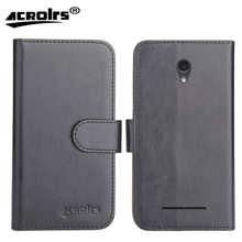"Hot!! In Stock ZTE Blade L110 Case 4"" 6 Colors Ultra-thin Leather Exclusive For ZTE Blade L110 Phone Cover+Tracking(China)"