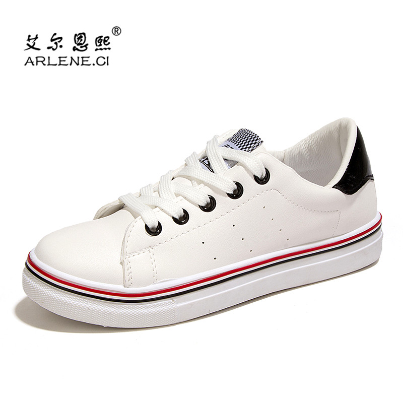 2016 New Wild Small White Shoes Momen Simple Common Projects Fashion Tenis Feminino Daily Leisure Super