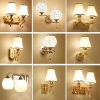 Glas Wandlampen Lesen Lampen Wand Montiert 110 V 220 V Kristall Leuchte Led Wand Lampe Schlafzimmer Wand Beleuchtung Zeitgenössische-in LED-Innenwandleuchten aus Licht & Beleuchtung bei