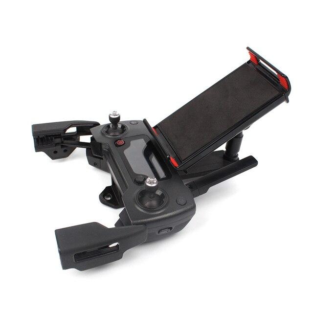 원격 컨트롤러 브래킷 마운트 전화 클립 태블릿 지원 홀더 스파크/Mavic/Mavic 에어 드론 송신기 액세서리