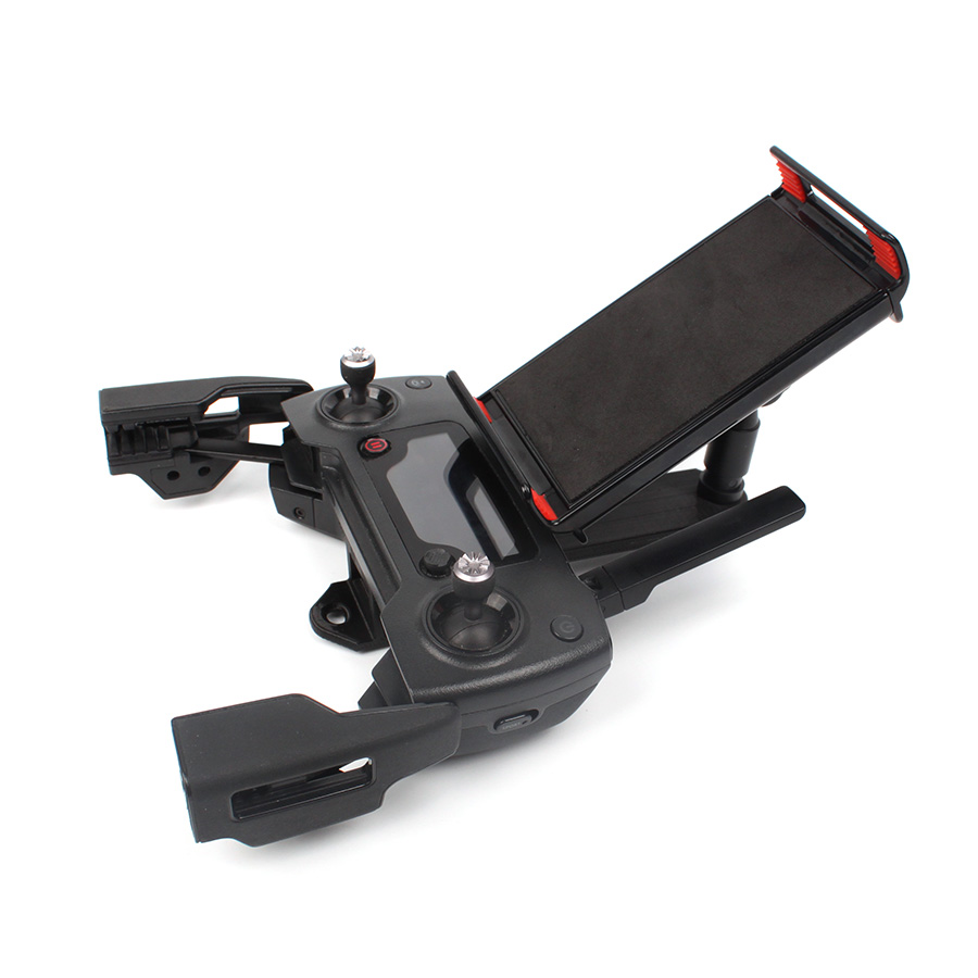 Remote Controller Bracket Mount Phone Clip Tablet Support Holder For DJI Spark / Mavic / Mavic Air Drone Transmitter Accessory
