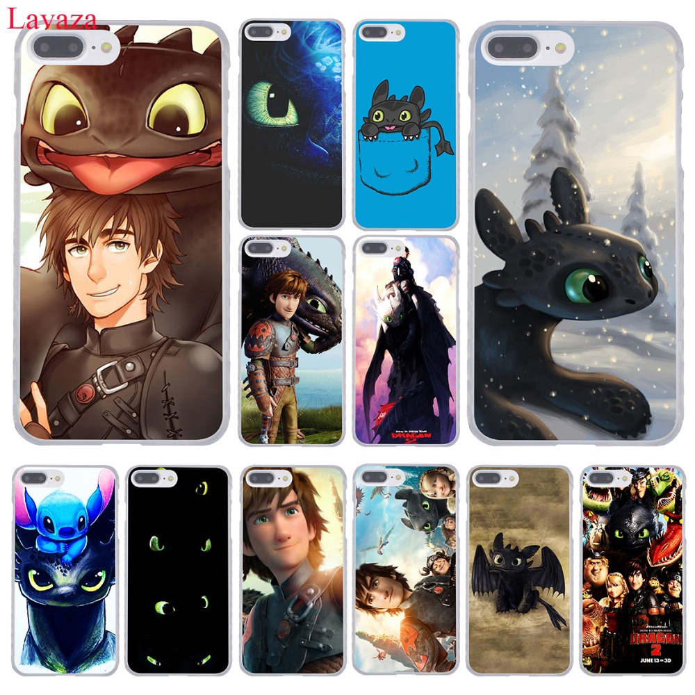 Lavaza Toothless Train Your Dragon Hard Coque Shell Phone <font><b>Case</b></font> for Apple <font><b>iPhone</b></font> 8 7 6 6S Plus X <font><b>10</b></font> 5 5S SE 5C 4 4S Cover