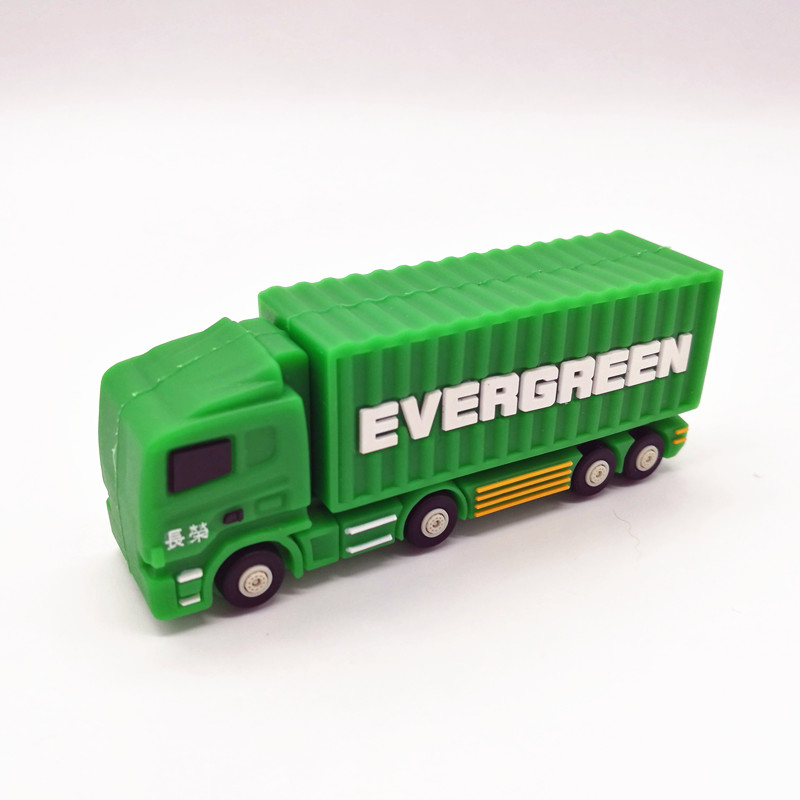 Truck Usb Flash Drive Pen Drive 4GB 8GB 16GB 32GB 64GB Pendrive Cartoon Lorry Memory Disk Usb Stick Personalized Gift Cle