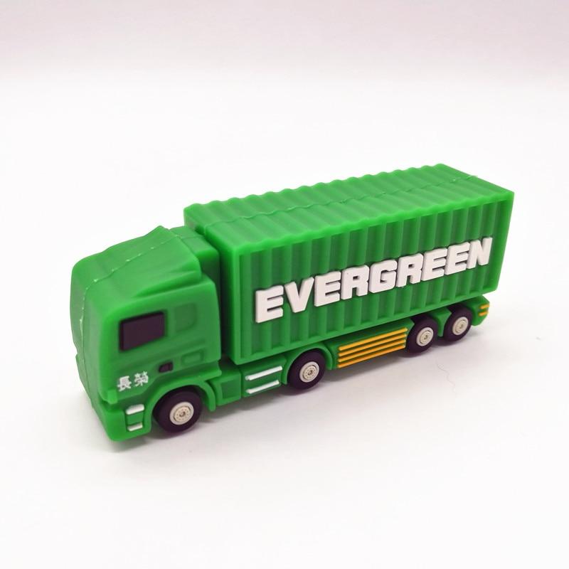 Truck Usb Flash Drive Pen Drive 4GB 8GB 16GB 32GB 64GB Pendrive Cartoon Lorry Memory Disk Usb Stick Personalized Gift Cle