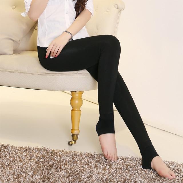 Plus Velvet Slim Leggings Girls Autumn and Winter High Waist Free Size Cotton Trousers Stretch Pants Women Leggings
