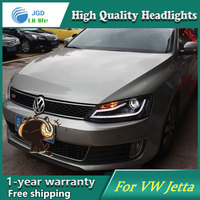 Auto Clud Style LED Head Lamp For VW Volkswagen Jetta 2012 2013 Led Headlights Signal Led