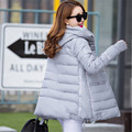 Large size Female Winter jacket long section thick cloak style cotton padded jacket Down&Parkas women winter clothing TT245