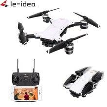 Le-idea IDEA10 Drone GPS WiFi FPV 1080P Wide-Angle Camera RC Helicopter Quadcopter Foldable Altitude Hold Drones with Camera HD