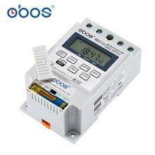 OBOS KG316 10A интеллектуальный микрокомпьютер программируемый электронный таймер реле времени контроллер AC220V DC12V