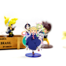 Love Thank You Kobayashi-san Chi No Maid Dragon Miss Toru Kanna  acrylic stand figure model plate holder cake topper ANIME