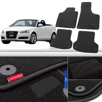 4pcs Premium Auto Fabric Nylon Anti-slip Floor Mats Carpet For Audi A3
